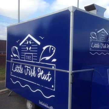 Little Fish Hut Burger Van