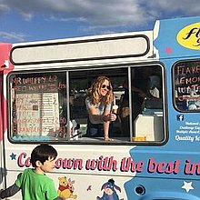 Brighton Gelato Ice Cream Cart
