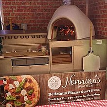 Nonnina's Wood Fired Pizzas Buffet Catering