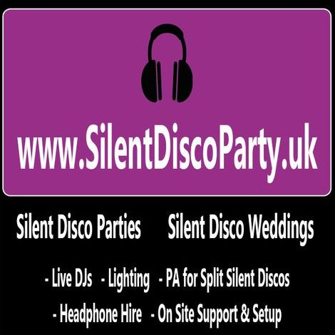 Silent Disco Party UK - DJ , Cardiff, Event Equipment , Cardiff,  Silent Disco, Cardiff