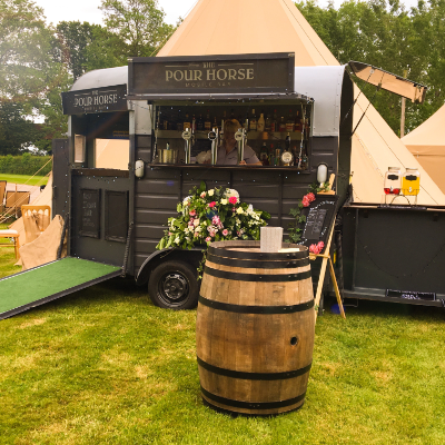 The Pour Horse Mobile Bar Ice Cream Cart