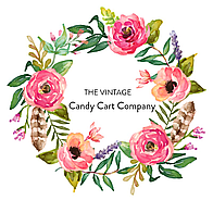 The Vintage Candy Cart Company Sweets and Candies Cart