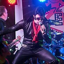 The Almost Elvis Band Impersonator or Look-a-like