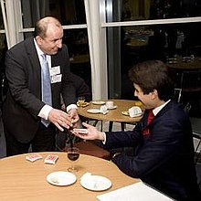 John Constantine-Magician Table Magician