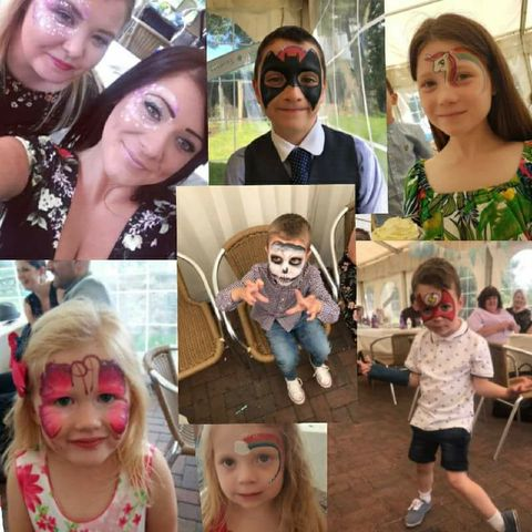 Shining Star Face Painting - Children Entertainment , Nottingham,  Face Painter, Nottingham