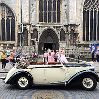 Open Top Daimler Wedding Cars Vintage & Classic Wedding Car