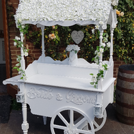 Vintage V Wedding and Event Hire Sweets and Candies Cart