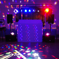 Mindys Roadshow Disco Karaoke Snow Machine