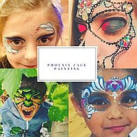 Phoenix Face Painting Children Entertainment