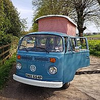 Classic Camper Weddings Transport