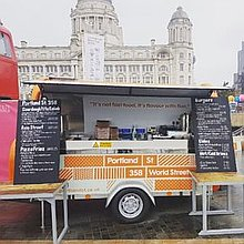 Portland St Pod Wedding Catering