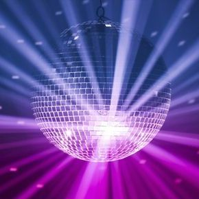Glitter Ball Disco Club DJ