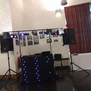 Yorkshire DJs Projector and Screen