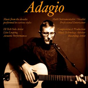 Adagio Singing Guitarist