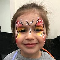 Chameleon Face Painting Children Entertainment