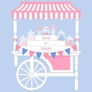 Carts of Delights Popcorn Cart