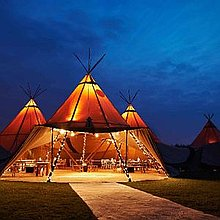 The Starlight Tipi Company Mobile Bar