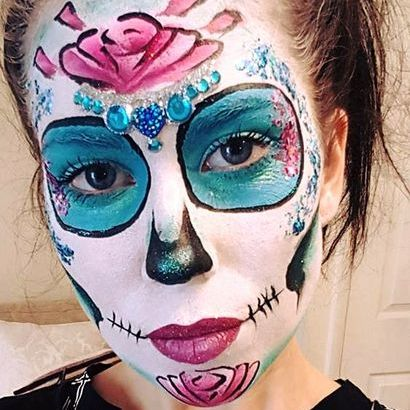 Black Cat Face and Body Art - Children Entertainment , Lincoln,  Face Painter, Lincoln