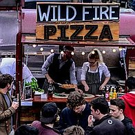 Wild Fire Pizza Pizza Van