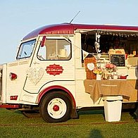 The Little Camion Creperie Ice Cream Cart