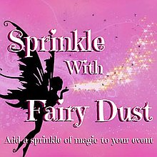 Sprinkle With Fairy Dust Sweets and Candies Cart