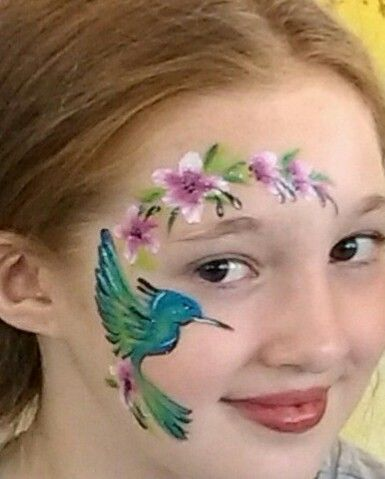Ladybird Facepainting by Lucy Balloon Twister