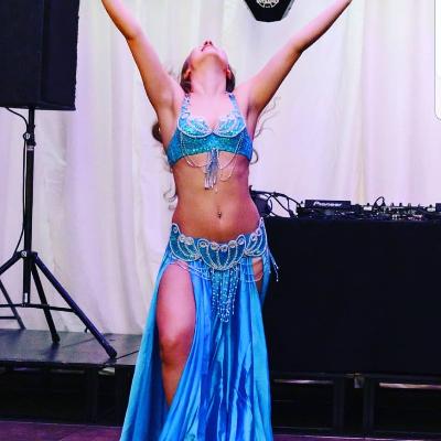 Marija Zinkevica Belly Dance Dance Act