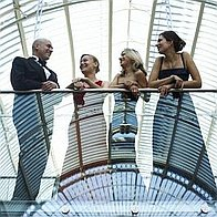 Crystal Palace String Quartet Cellist