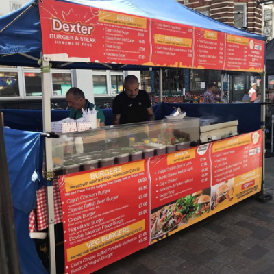 DEXTER BURGER AND STEAK Burger Van