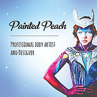 Painted Peach Acrobat