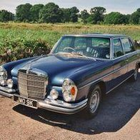 Barratts Classic Car Hire Chauffeur Driven Car