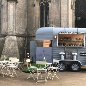 Chin Chin Vintage Horsebox Bar Mobile Bar