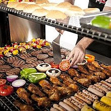 La Maison Mobile BBQ and  Catering Service Buffet Catering