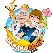 Banana Brain Fun Shows Children's Magician