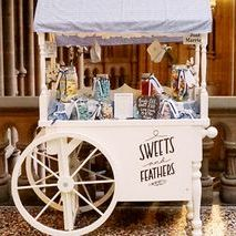 Sweets and Feathers Sweets and Candy Cart