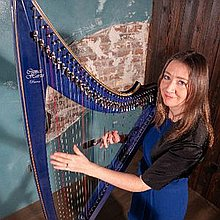 Maureen Hunter Harpist Harpist