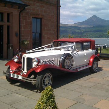 Ayrshire Bridal Cars Wedding car