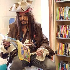 Captain Jack Dawrr Impersonator or Look-a-like