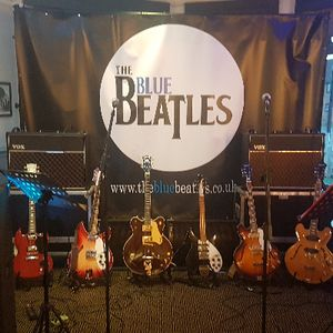 The Blue Beatles duo and band Live music band