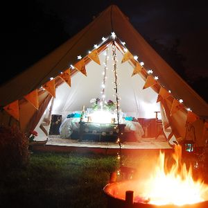 Bellows Glamping and Events Bell Tent