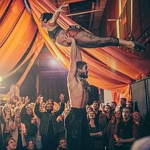 Gypsy Disco Circus Stilt Walker