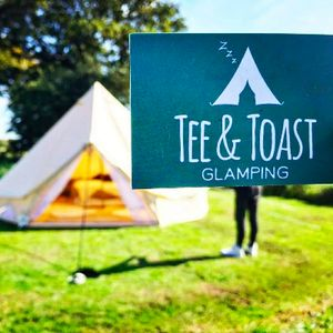 Tee&Toast Glamping Stretch Marquee
