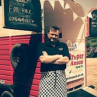 Proper Ansum food co Burger Van