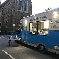 Frankly Fish & Chips Van 66 & 99 Corporate Event Catering