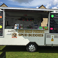 Spudbuddies Popcorn Cart