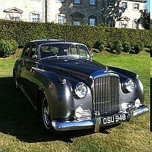 Vintage Bentley S1 Wedding Car Vintage & Classic Wedding Car