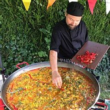 Paella Bear Catering