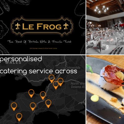 Le Frog Business Lunch Catering