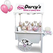 Darcy's Event & Party Hire Popcorn Cart