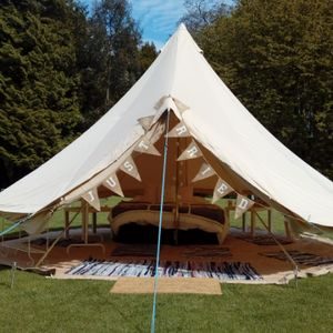 Blossom Bell Tents Bouncy Castle